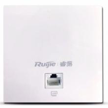 锐捷(Ruijie)双频千兆无线AP RG-EAP102 室内面板ap 企业级wifi无线接入点 白色