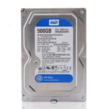 WD/西部数据 西数 WD5000AAKX 500G台式机硬盘西数 SATA3串口7200转 蓝盘 500G 特价