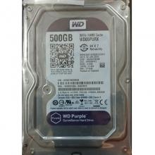 西部数据(WD)紫盘西数监控盘 500G 台式机械硬盘 监控硬盘 备用盘 紫盘