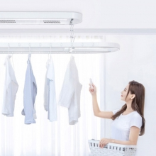 Aqara 智能晾衣机 晾衣架阳台室内带烘干风干照明电动升降接入米家APP智能联动控制支持 Aqara 智能晾衣机