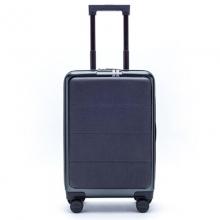 小米米家90分轻商务旅行箱拉杆箱 男女万向轮登机行李箱 钛金灰 20英寸 前开盖 双密码锁