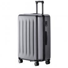 小米(MI)拉杆箱旅行箱24寸万向轮密码箱轻巧便携出差旅行男女皮箱90分行李箱 星空灰 24英寸