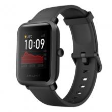 520情人节礼物推荐 Amazfit 米动手表青春版 1S 智能运动户外手表 华米科技出品 GPS定位 NFC 消息提醒 心率检测 碳黑色