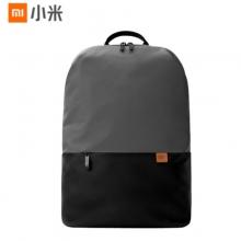 小米简约休闲双肩包 创新防水侧袋|20L大容量|冰感面料 灰色