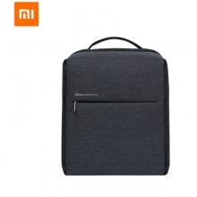 小米(MI)极简都市双肩包 休闲商务笔记本电脑包14英寸 男女书包双肩背包 深灰色