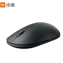 小米(MI)小米无线鼠标2 熔岩黑 细腻涂层温润触感,左右对称简约造型,光电传感精准定位