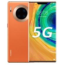 华为 HUAWEI Mate 30 Pro 5G 麒麟990 OLED环幕屏双4000万徕卡电影四摄8GB+128GB丹霞橙5G全网通游戏手机