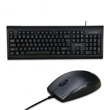 方正(iFound)U763有线键盘鼠标套装有线笔记本鼠标键盘办公家用USB 一年换新 商务键鼠套装
