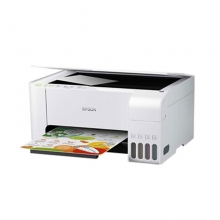 爱普生(EPSON)L3156 A4全新彩色无线多功能一体机 (打印/复印/扫描/wifi) 优雅白色