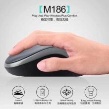 艾威克M186无线鼠标笔记本电脑办公商务通用无线鼠标智能省电鼠标