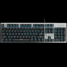 雷柏V530游戏键盘机械电竞有线笔记本台式电脑lol吃鸡雷柏键盘USB