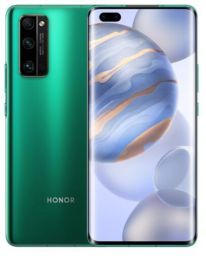 荣耀30 Pro 8GB+256GB绿野仙踪 超感光相机 50倍超稳远摄 麒麟990 超曲OLED飞瀑屏 全网通智能手机
