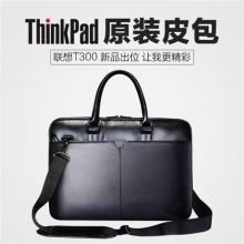 联想ThinkPad T300商务单肩包手提皮包14/15.6寸男女笔记本电脑包