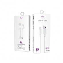 爱优者6A数据线A016type-c口 华为口  手机充电线 支持超级快充