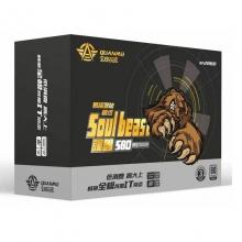 全模玩家 魂兽580(额定350W)80PLUS银牌 全模组 台式电脑主机电源