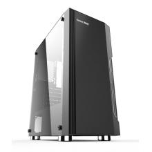 长城机箱 长城启程K20 电脑主机侧透钢化玻璃USB3.0高端游戏水冷箱