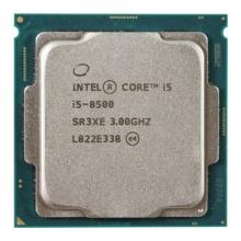 英特尔处理器i5 8500电脑主板CPU 散片 8代  六核