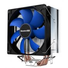 航嘉CPU散热器 航嘉冰封400  四铜管散热 12CM大风扇 支持130W 超大风量