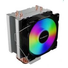 航嘉CPU散热器 航嘉冰封400S 9CM静音风扇 四铜管散热 支持120W 超大风量
