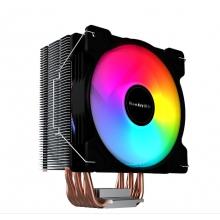 航嘉CPU散热器 航嘉冷静王冰封600R炫动版 6铜管 12CM大风扇