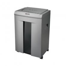 得力(deli)14461碎纸机静音大功率40分钟持续碎纸20L大容量连续碎纸 2*12mm米粒状碎纸机