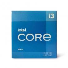 英特尔 Intel i3-10105 4核8线程 盒装CPU处理器三年质保