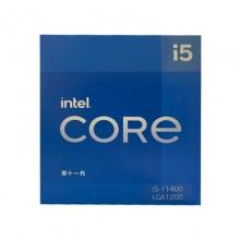 英特尔 Intel i5-11400 6核12线程 盒装CPU处理器三年质保
