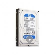 【100%正品】西数1T 蓝盘西部数据(WD)蓝盘 1TB 7200转64MB 3.5英寸台式机械电脑硬盘 SATA3 6Gb 质保二年 正品行货  西数硬盘