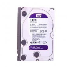 【100%正品】西数3T 紫盘西部数据(WD) 紫盘 3TB 监控级台式机械硬盘  3.5英寸 正品行货 质保三年 西数硬盘