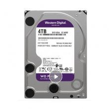 【100%正品】西数4T紫盘西部数据(WD) 紫盘 4TB 监控级 台式机械硬盘  3.5英寸 正品行货 质保三年 西数硬盘