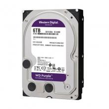 【100%正品】西数6T 紫盘西部数据(WD) 紫盘 6TB 监控安防录像台式机械硬盘 3.5英寸 正品行货 质保三年 西数硬盘